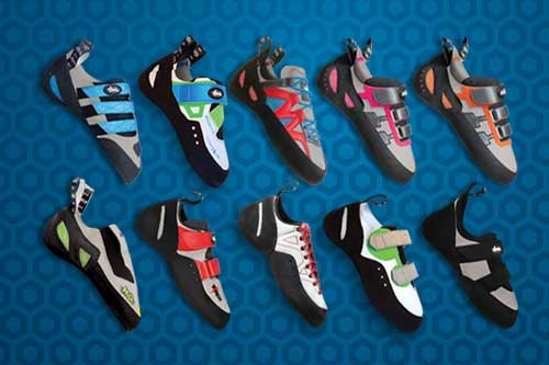 climbing shoes