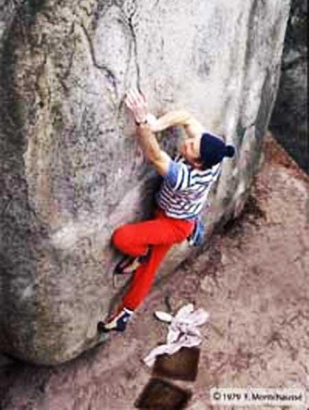 Jo Montchausse Fontainebleau 1979