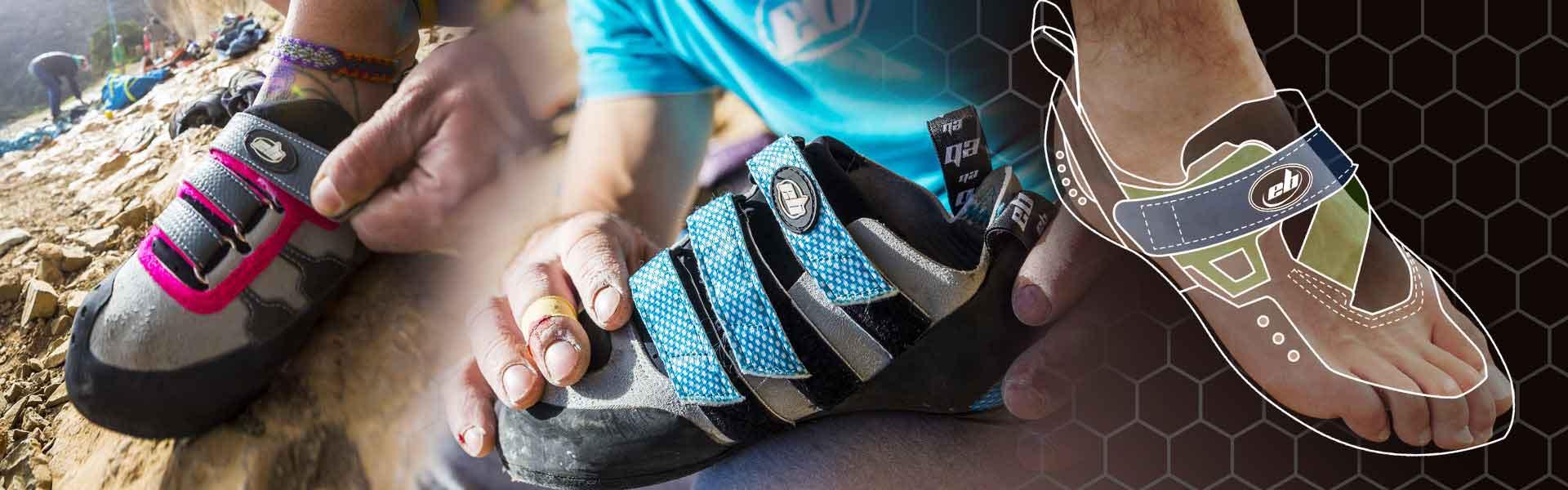 choose your climbing shoes